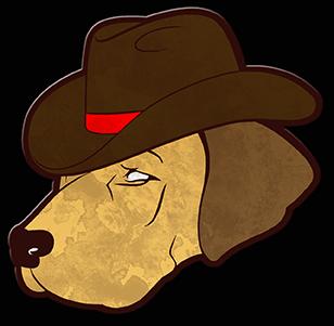 Cowboy dog by sketch skutch d8xmt3o
